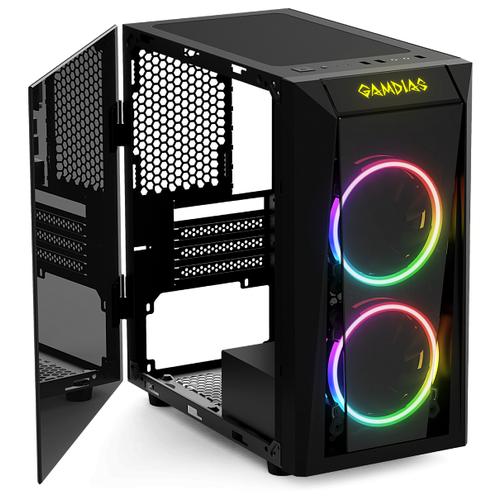 Компьютерный корпус GAMDIAS Talos E1 Black