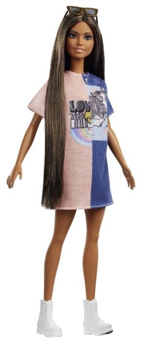 Кукла Barbie Игра с модой Оригинальная Брюнетка, 29 см, FXL43