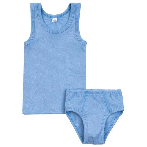 Купить Комплект нижнего белья Утенок размер 98, голубой, Белье и пляжная мода