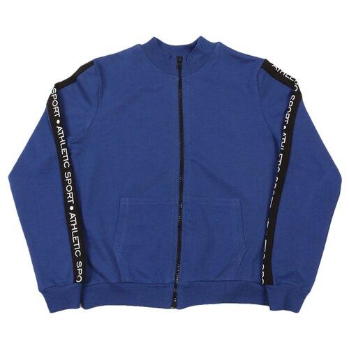 Олимпийка Roxy Foxy размер 134, темно-синий шорты roxy foxy размер 98 темно синий
