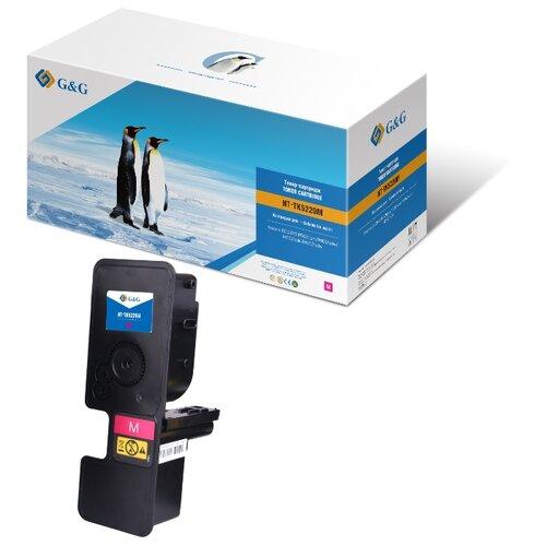 Фото - Картридж лазерный G&G NT-TK5220M пурпурный (1200стр.) для Kyocera ECOSYS P5021cdn/P5021cdw/M5521cdn/ площадка giotto s g mh601 90мм для адаптера g mh621