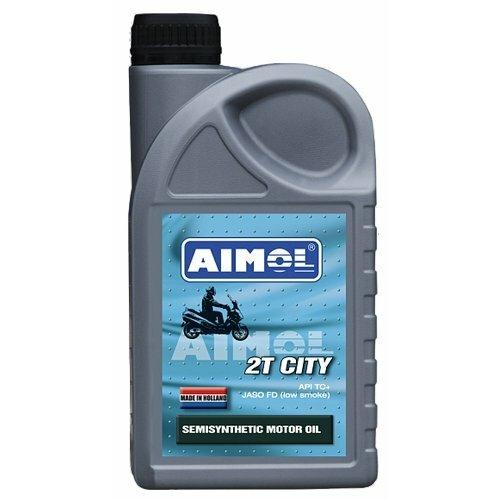 Полусинтетическое моторное масло Aimol 2T City, 1 л полусинтетическое моторное масло aimol streetline 10w 40 1 л