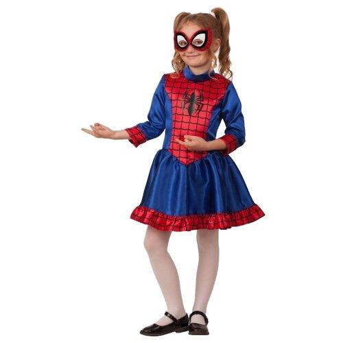 Фото - Костюм Батик Человек Паук (5095), синий/красный, размер 140 ледянка 1 toy человек паук т59096 красный синий