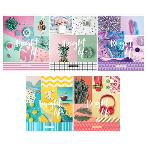 Купить ArtSpace Упаковка тетрадей Стиль. Bright life Т96к_26729, 5 шт., клетка, 96 л., Тетради
