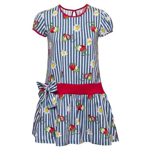 Купить Платье M&D размер 128, деним, Платья и сарафаны