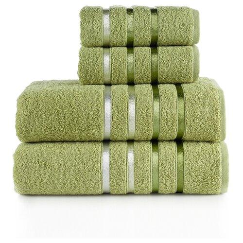 KARNA Комплект полотенец Bale зеленый комплект полотенец томдом бунвисто зеленый