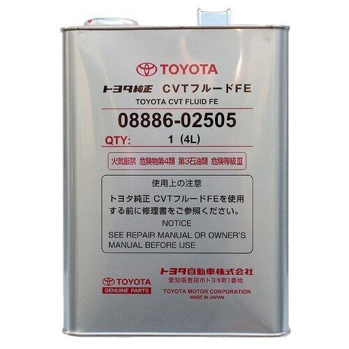 Трансмиссионное масло TOYOTA CVT Fluid FE 4 л