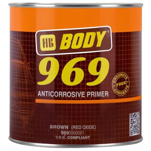 Грунт-праймер HB BODY 969 коричневый 1