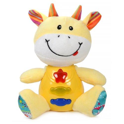 Купить Развивающая игрушка Elefantino Умный зоопарк. Жираф IT105315 желтый/белый, Развивающие игрушки