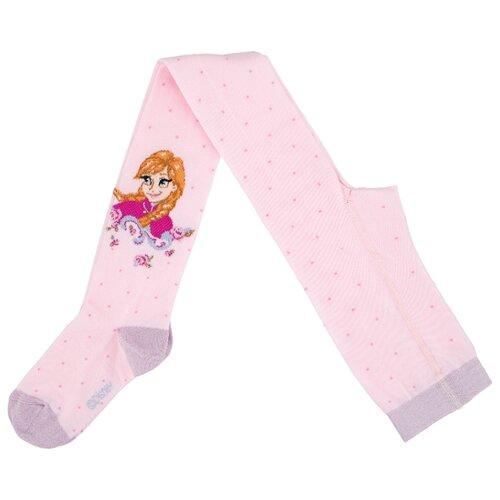 Фото - Колготки Conte-kids Disney Frozen, размер 116-122, 516 светло-розовый колготки принцессы светло розовый