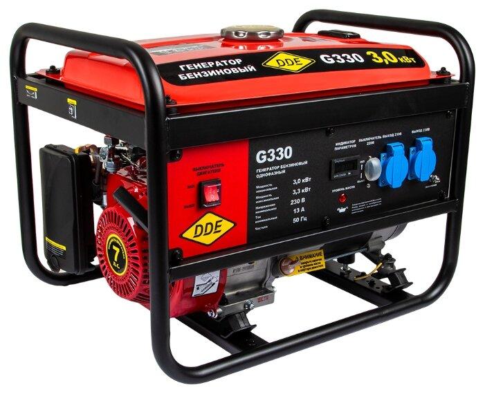 Бензиновый генератор DDE G330 (3000 Вт) — купить по выгодной цене на Яндекс.Маркете