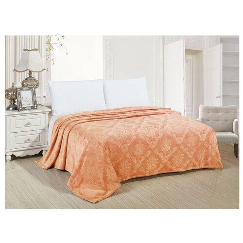 Плед АльВиТек Венеция 119-PV 200 х 220 см, оранжевый плед estro vaniglia 220 х 200 см