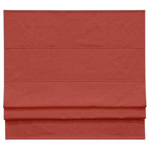 Римская штора Эскар Ammi (красный), 60х160 см римская штора томдом клортанс