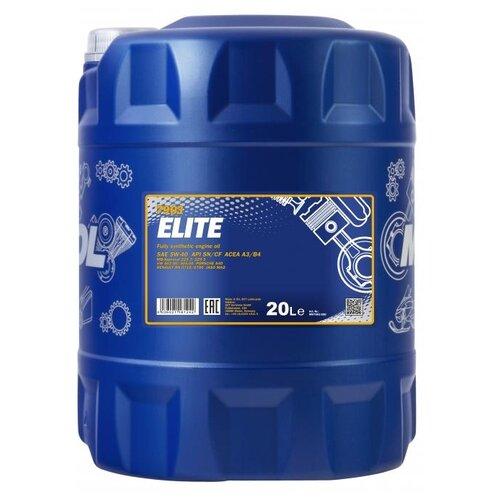 Моторное масло Mannol Elite 5W-40 20 л моторное масло mannol extreme 5w 40 20 л