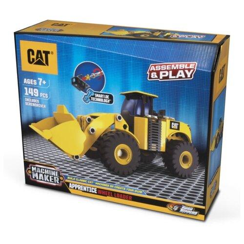 Купить Винтовой конструктор Caterpillar Machine Maker 80933 Трактор-погрузчик, Конструкторы