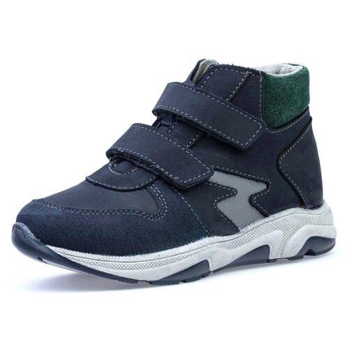 Ботинки КОТОФЕЙ размер 27, синий/зеленый фото