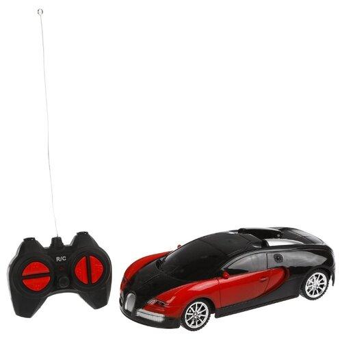 Гоночная машина Zhuo Jia Toys 301-10 1:22 17 см черный/красный, Радиоуправляемые игрушки  - купить со скидкой