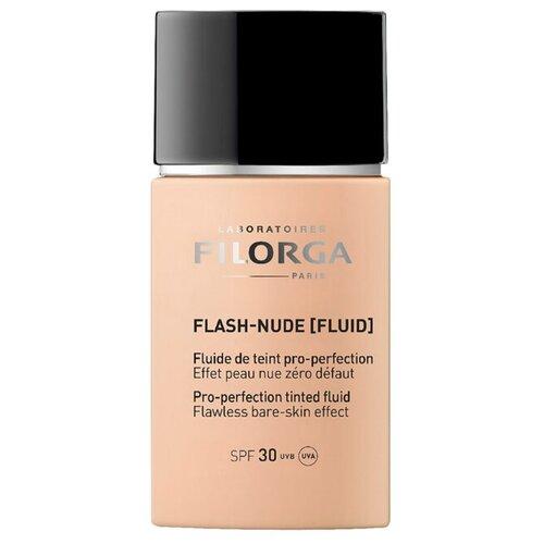 Filorga Тональный флюид Flash-Nude, 30 мл, оттенок: 01 Medium-light 3ina тональный флюид the nude foundation 30 мл оттенок 301