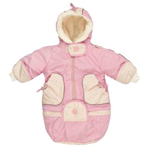 Фото - Комбинезон-трансформер Золотой Гусь размер 74-80, розовый золотой гусь комплект зая зай 3 предмета розовый