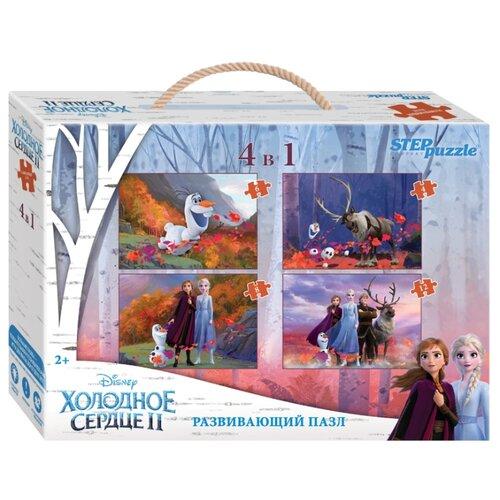 Купить Набор пазлов Step puzzle Disney Холодное сердце-2 4 в 1 (70165), Пазлы