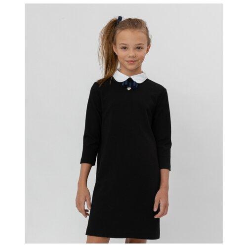 Платье Button Blue размер 164, черный