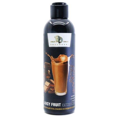 Фото - Гель-смазка Dжага Dжага JUICY FRUIT Молочный шоколад 200 мл флакон гель смазка dжага dжага juicy fruit соленая карамель 200 мл флакон