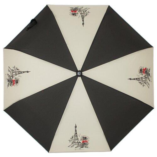 Зонт автомат FLIORAJ Наив Собаки черный/белый рюкзак женский flioraj цвет черный 00058058