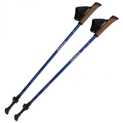 Палки для скандинавской ходьбы 2 шт. Tramp Flash TRR-010 синий
