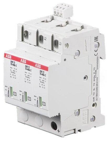 Устройство защиты от перенапряжения для систем энергоснабжения ABB 2CTB803853R4300