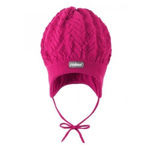 Купить Шапка Reima размер 46, dark pink, Головные уборы