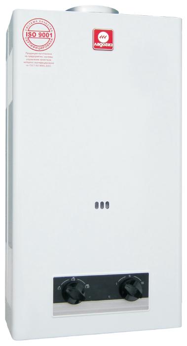 Купить Проточный газовый водонагреватель Ладогаз ВПГ 11ED-01, белый по низкой цене с доставкой из Яндекс.Маркета (бывший Беру)
