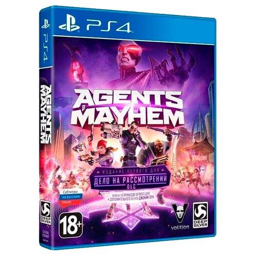 Купить Игра для PlayStation 4 Agents of Mayhem издание первого дня, Deep Silver