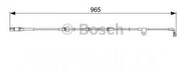 Датчик износа тормозных колодок передний Bosch 1987473027 для BMW X5, BMW X6