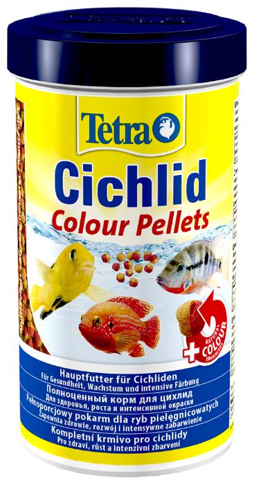 Сухой корм Tetra Cichlid Colour Pellets