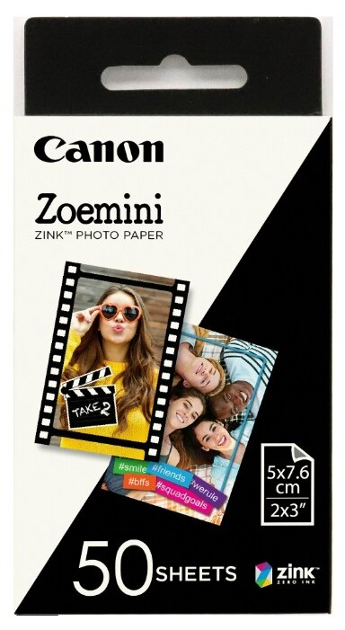 Набор для печати Canon ZP-2030/50 3215C002/50л./белый для сублимационных принтеров