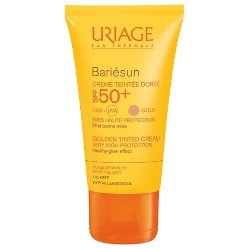 Uriage Тональный крем Bariesun SPF 50+, 50 мл, оттенок: золотистый uriage 50 spf