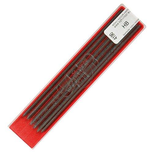 Купить KOH-I-NOOR Грифели для цанговых карандашей, HB., 2мм, 12 штук серый, Механические карандаши и грифели