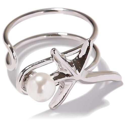 Фото - EXCLAiM Кольцо морская звезда 039S2955R17, размер 17 кольцо с фианитами морская звезда sokolov