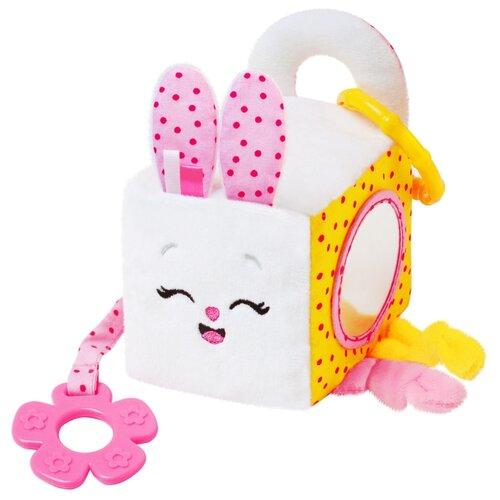 Подвесная игрушка Мякиши Банни (630) белый погремушка мякиши зайка банни 604 белый розовый