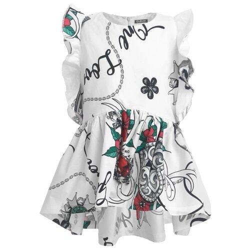 Купить Блузка Gulliver размер 140, розовый, Рубашки и блузы