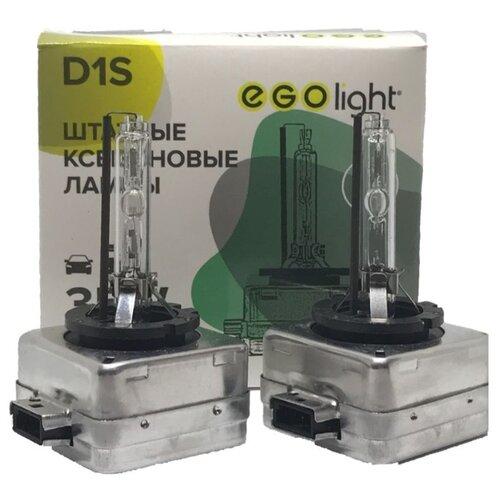 цена на Лампа автомобильная ксеноновая EGOlight D-series 200 D1S 35W 2 шт.