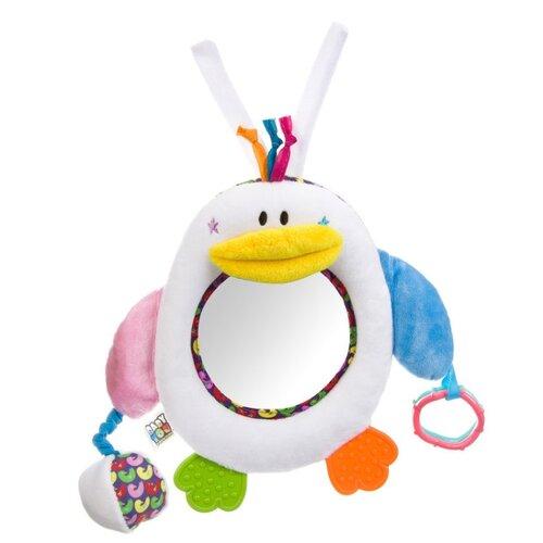 Прорезыватель-погремушка BONDIBON Baby You Пингвин ВВ2907 разноцветный прорезыватель погремушка happy baby flower twist разноцветный