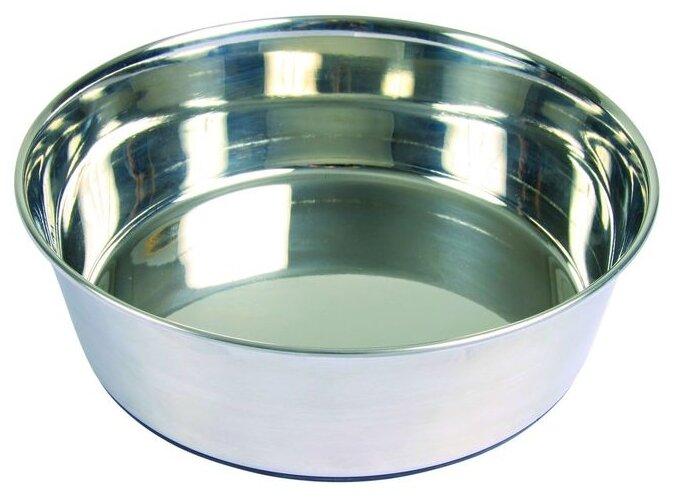 Миска Trixie для собак металлическая 1,7 л/21 см