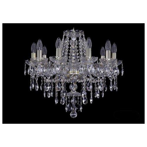Фото - Люстра Bohemia Ivele Crystal 1415 1415/10/200/G, E14, 400 Вт люстра bohemia ivele crystal 1415 1415 20 10 5 400 xl 180 3d g e14 1400 вт