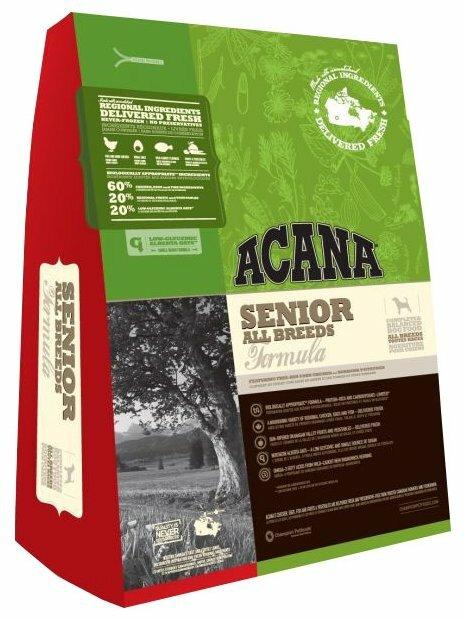 Корм для пожилых собак Acana Heritage 2.27 кг