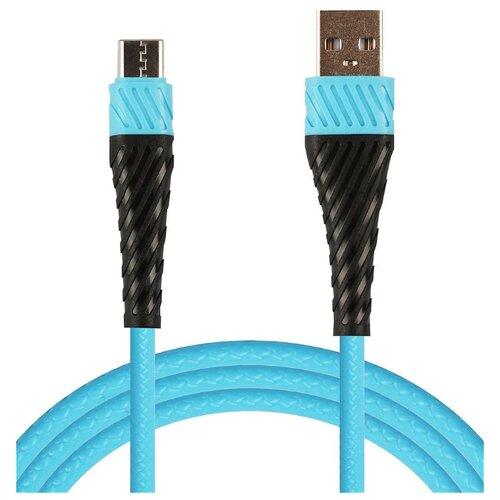 Фото - Кабель WIIIX USB - USB Type-C (CB300-UTC-2A-10) 1 м голубой utc