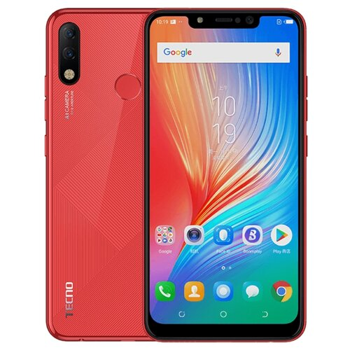 Смартфон TECNO Spark 3 Pro красный (TCN-KB8-BORE)