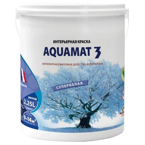 Краска акриловая Pragmatic Aquamat 3 5100BR91 матовая 011 2.25 л 3.55 кг