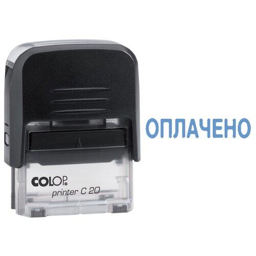 Фото - Штамп COLOP Printer С20 прямоугольный Оплачено синий geeetech gt7l 3d printer extruder j head nozzle silver