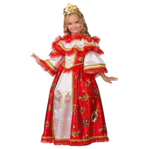 Купить Костюм Батик Герцогиня (1903), красный/белый, размер 116, Карнавальные костюмы
